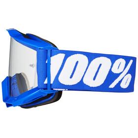 100% Accuri Anti Fog Clear - Gafas enduro - azul
